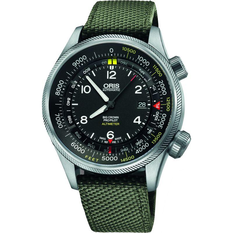 Mens Oris Big Crown ProPilot Altimeter Automatic Watch