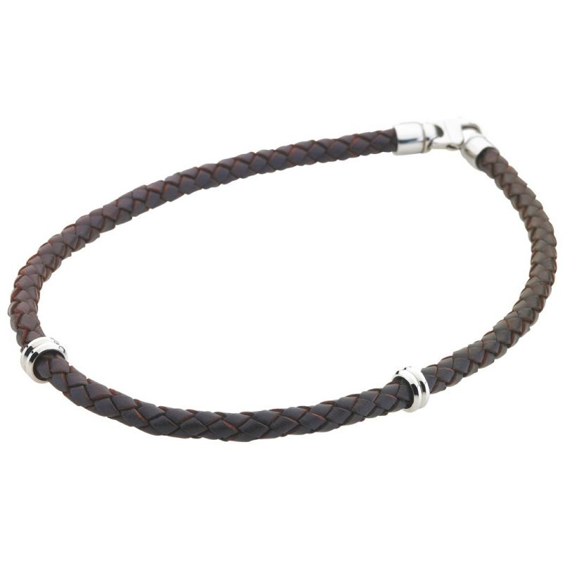 Mens STORM Stainless Steel Necklace TOPANGA-NECKLACE-BROWN