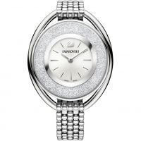 Damen Swarovski Crystalline Oval Uhr