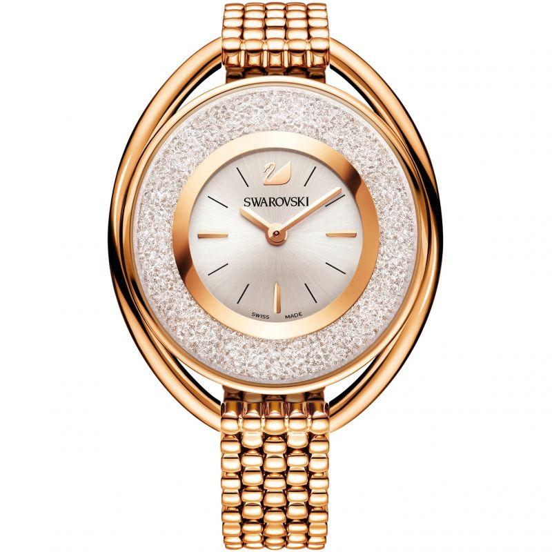Damen Swarovski Crystalline Oval Watch 5200341