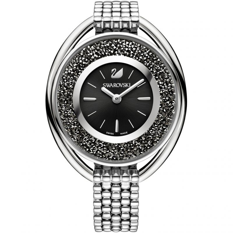 Damen Swarovski Crystalline Oval Watch 5181664