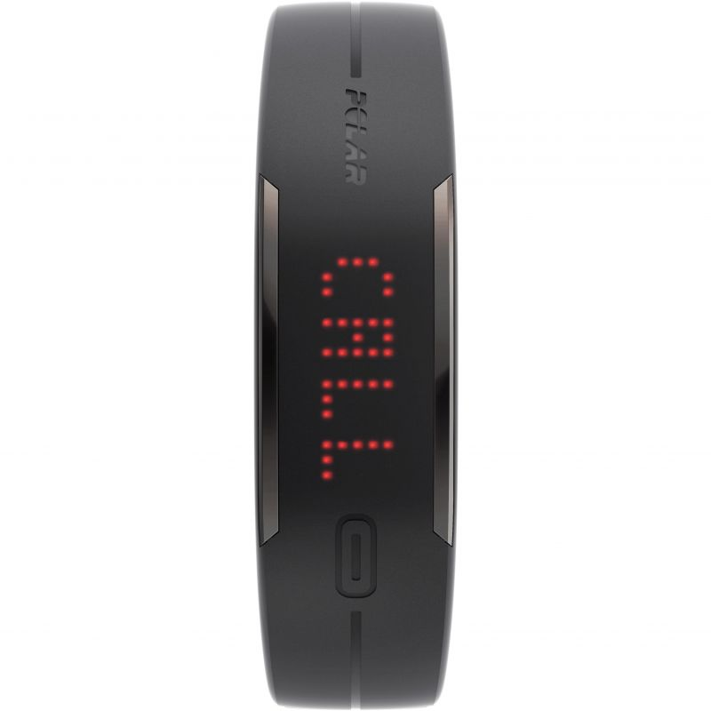Polar Loop 2 Smoky Black Bluetooth Activity Tracker Unisex horloge Zwart 90054913