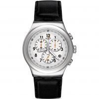Herren Swatch L Imposante Chronograph Watch YOS451
