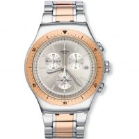 Herren Swatch So Biggar Chronograph Watch YOS452G