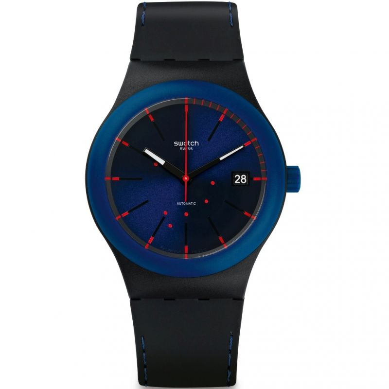 Mens Swatch Sistem Notte Automatic Watch