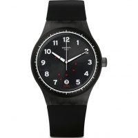 Unisex Swatch Sistem Gentleman Watch SUTF400