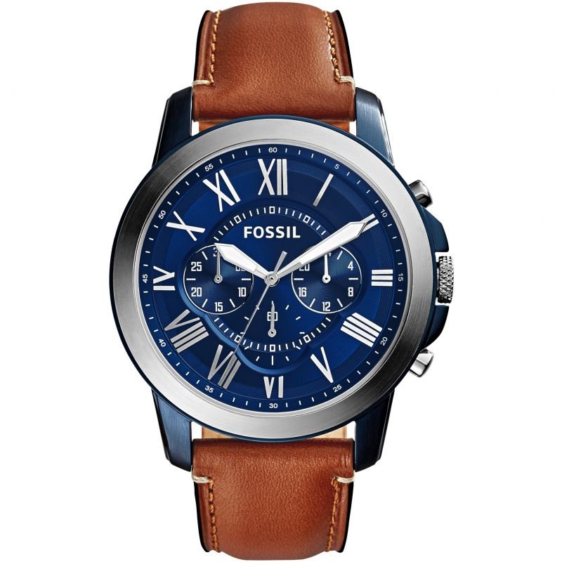 homme Fossil Grant Chronograph Watch FS5151