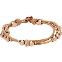 Ladies Fossil PVD rose plating ICONIC BRACELET JA6539791