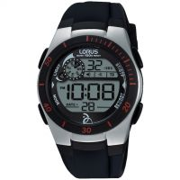 Mens Lorus Alarm Chronograph Watch R2375KX9