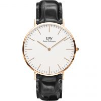 Mens Daniel Wellington Classic 40mm Reading Watch