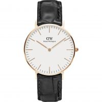 Mens Daniel Wellington Classic 36mm Reading Watch