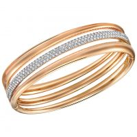 Damen Swarovski PVD Rosa plating EXACT BANGLE