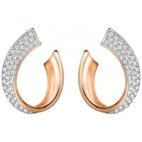 Damen Swarovski PVD Rosa plating EXIST EARRINGS