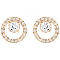 Ladies Swarovski PVD Gold plated CREATIVITY EARRINGS