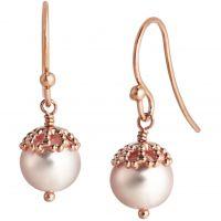 Ladies Jersey Pearl Sterling Silver Emma-Kate Freshwater Pearl Earrings EKDE-RG