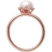 femme Jersey Pearl Emma-Kate Freshwater Pearl Ring Size M Watch EKR-RG-M