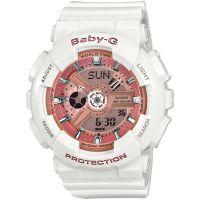femme Casio Baby-G Alarm Chronograph Watch BA-110-7A1ER