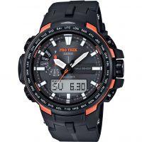 Hommes Casio Pro Trek Alarme Chronographe Montre
