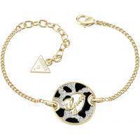 Ladies Guess Gold Plated Guess Adventure Bracelet UBB61062-L