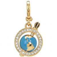 Juicy Couture Jewellery Little Luxuries Globe Charm JEWEL