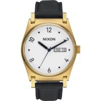 Nixon The Jane Leather Damklocka Svart A955-513