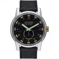 Herren Nixon The Patriot Leder Uhr