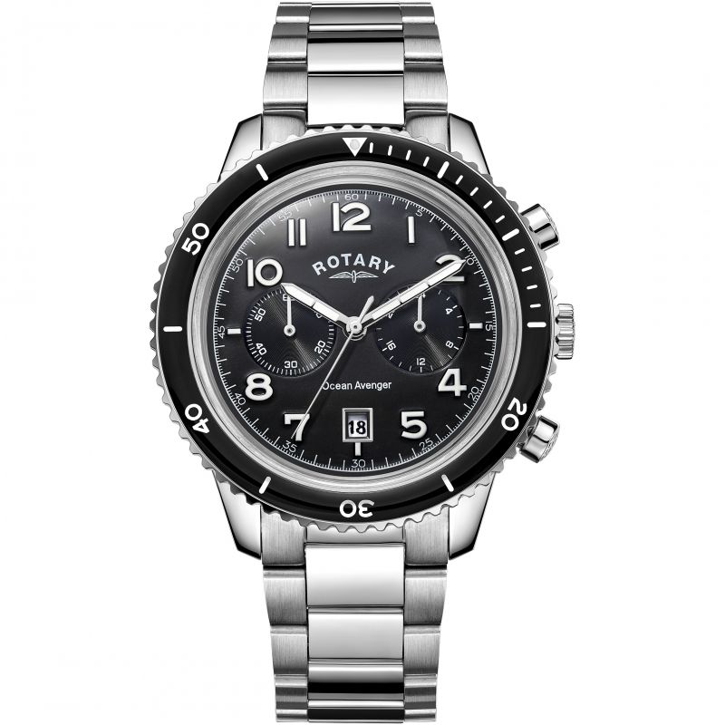 Herren Rotary Ocean Avenger Chronograph Watch GB05021/04