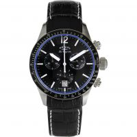 Mens Rotary Swiss Made Quartz Chronograph Watch