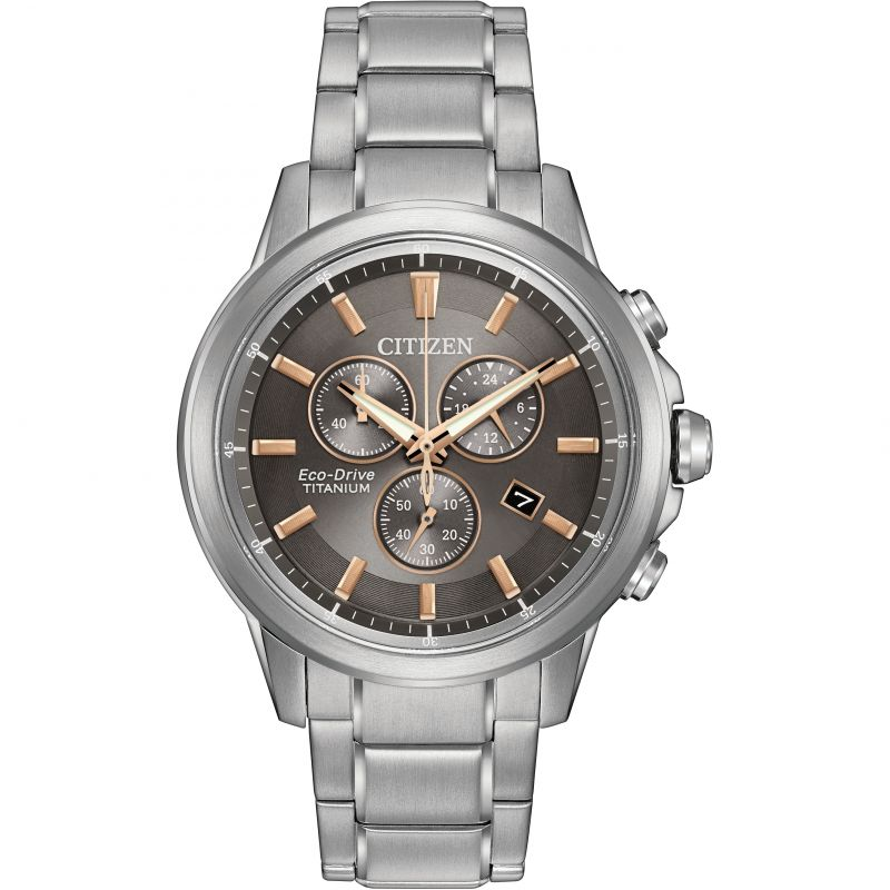 Mens Citizen Sport Ti Chronograph Watch