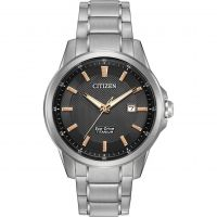 Mens Citizen Sport Ti Titanium Eco-Drive Watch