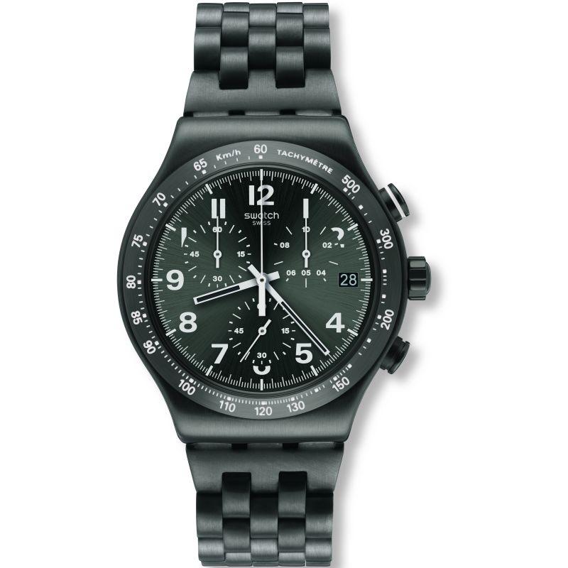 Mens Swatch Destination Manhattan Chronograph Watch