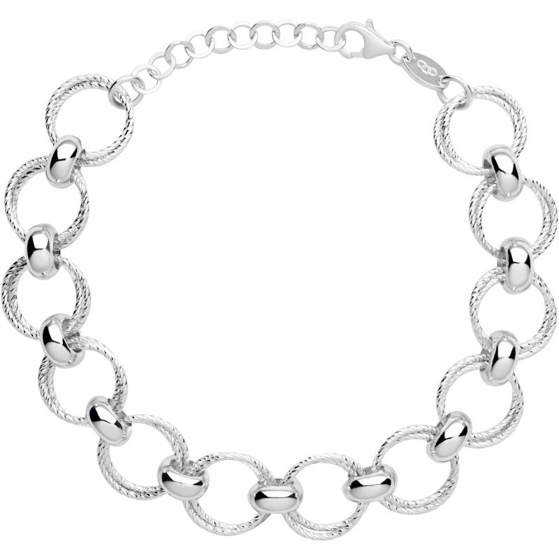 Ladies Links Of London Sterling Silver Aurora Bracelet 5010.3172