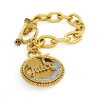 Damen Juicy Couture PVD Gold überzogen JET SET BRACELET