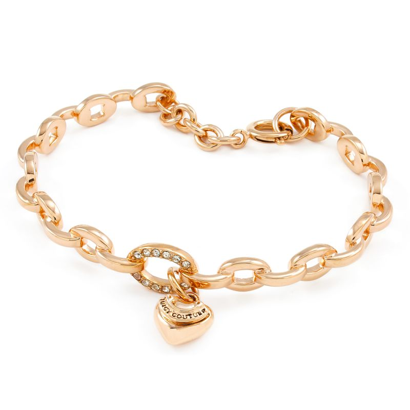 Ladies Juicy Couture Gold Plated PAVE JUICY BANGLE WJW792-690