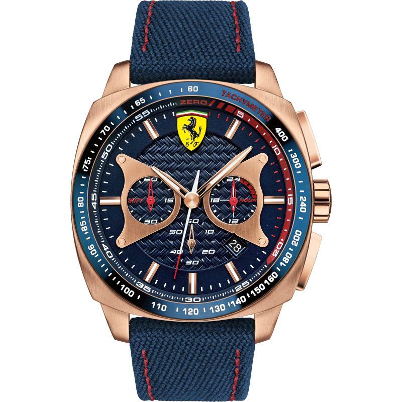 Mens Scuderia Ferrari Aereo Chronograph Watch