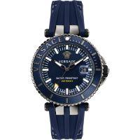 Herren Versace V-Race Diver Watch VAK020016