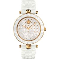 Versace Vanitas Ceramic 40 Mm Dameshorloge Wit VAO030016