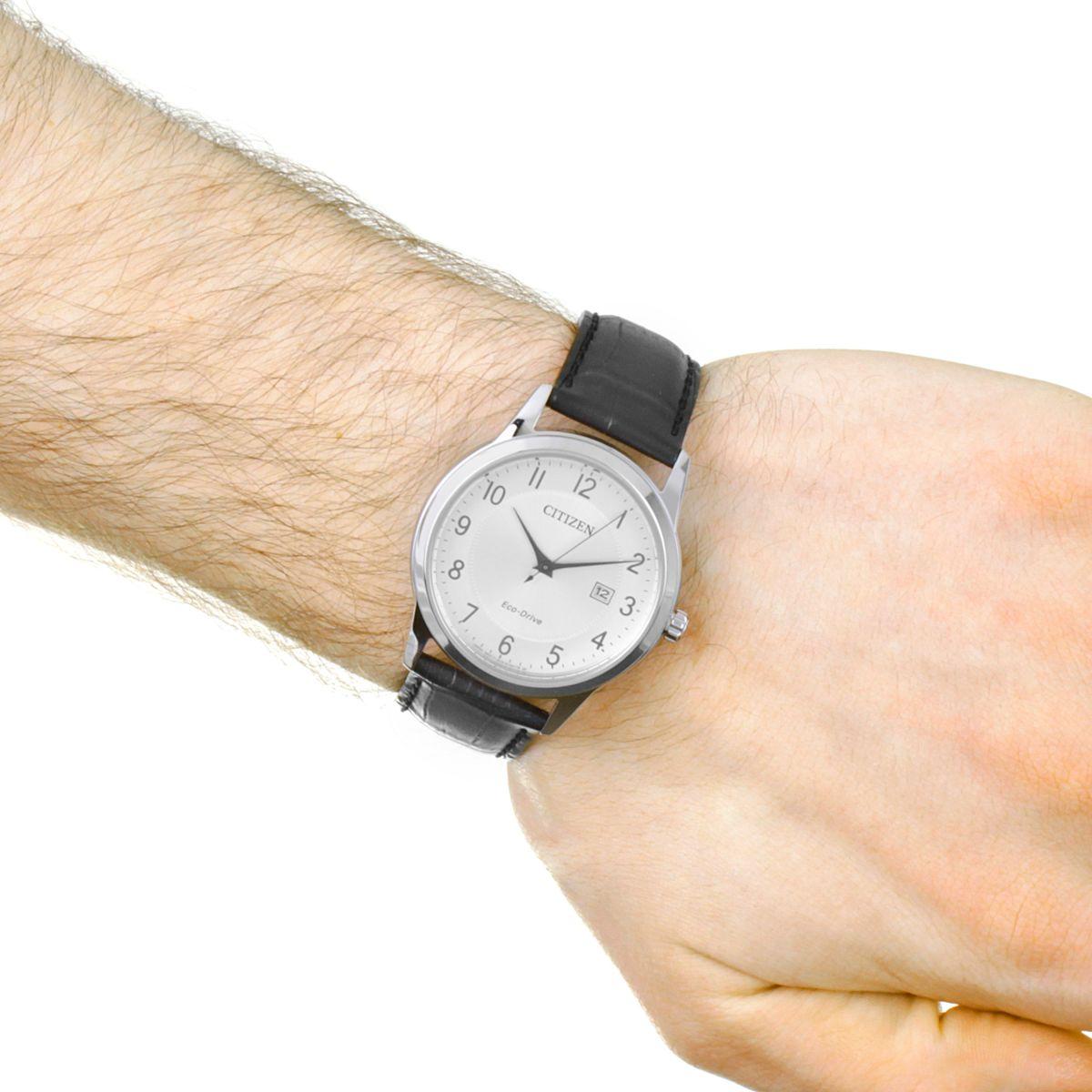 Citizen Dress Reloj Para Hombre Negro Aw1231 07a Es