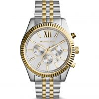 Michael Kors Lexington Herenchronograaf Tweetonig MK8344