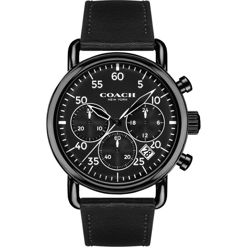 Mens Coach Delancey Chronograph Watch