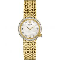 Bulova Diamond Gallery Dameshorloge Goud 98W218