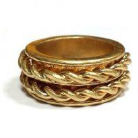 unisexe Icon Brand Jewellery Premium Antartica Ring Watch P1080-R-BRA-MED