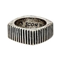 Biżuteria męska Icon Brand Jewellery Time Squared Ring P1062-R-SIL-MED