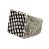 Gioielli da Unisex Icon Brand Jewellery Luxury Model Ring P1064-R-SIL-LGE