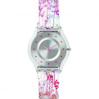 Damen Swatch Skins -Jardin Fleuri Watch SFE102
