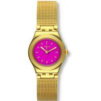 Damen Swatch eisern Big -Twin Pink Uhr