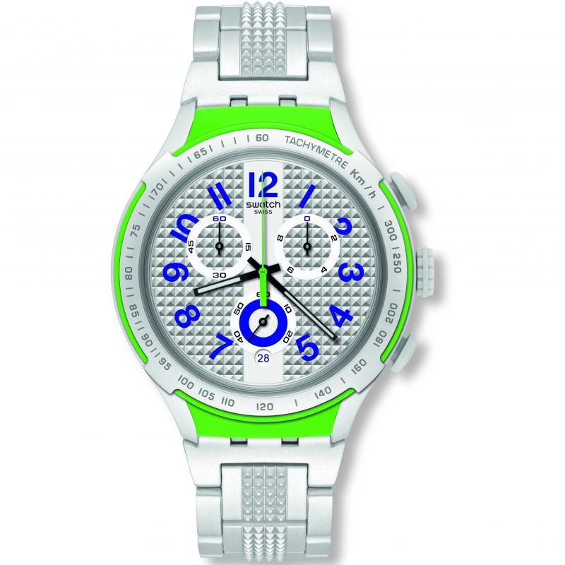 Unisex Swatch Irony X-Lite -Electric Ride Chronograph Watch