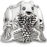 femme Thomas Sabo Jewellery Karma Beads Snail Watch K0192-879-14