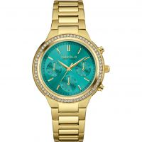 Ladies Caravelle New York Chronograph Watch
