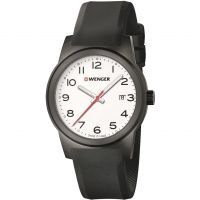 Wenger Field Color Herenhorloge Zwart 010441150